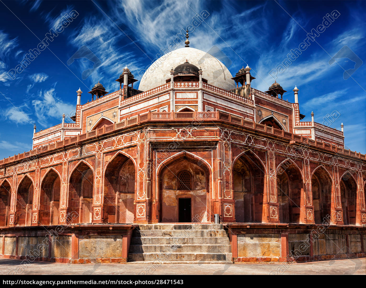 humayun's, tomb., delhi, , india - 28471543