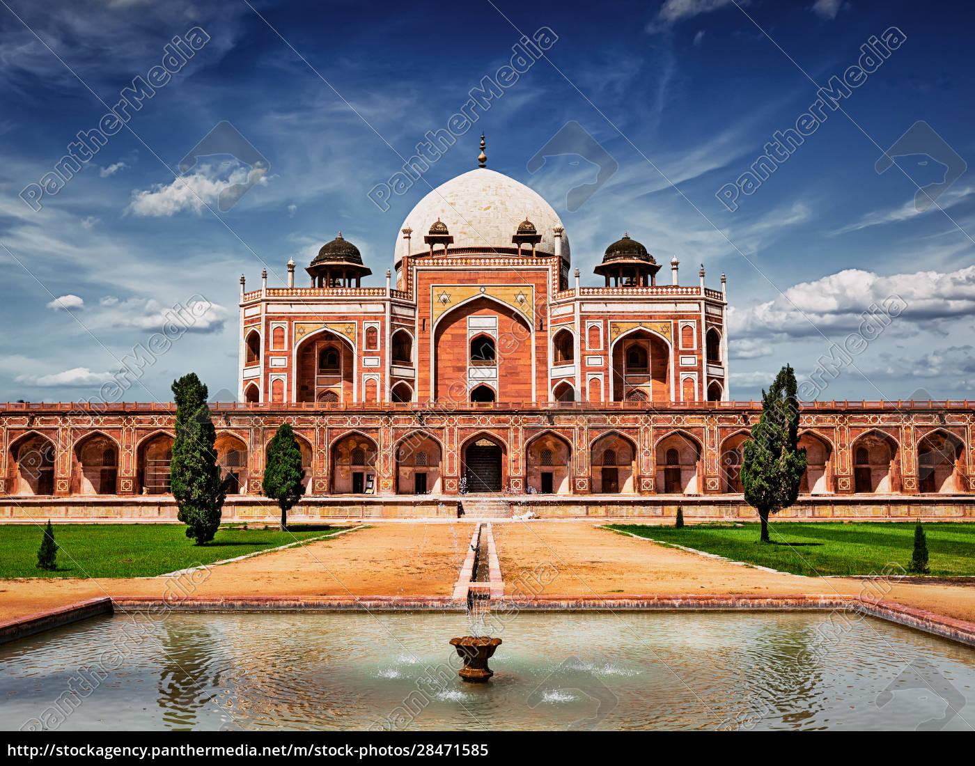 humayun's, tomb., delhi, , india - 28471585