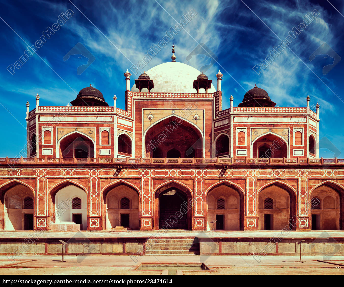 humayun's, tomb., delhi, , india - 28471614