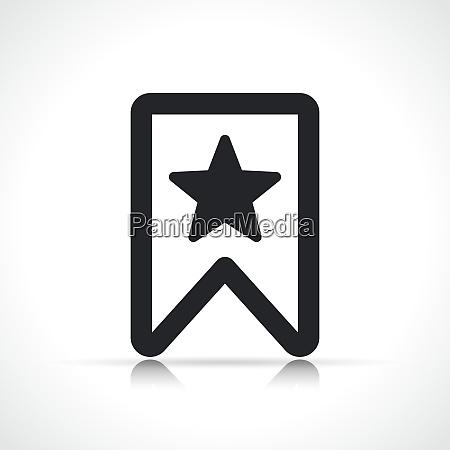vector bookmark icon symbol design