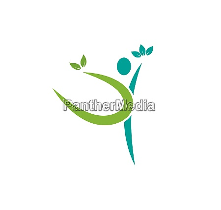 vida saludable vector de plantilla de