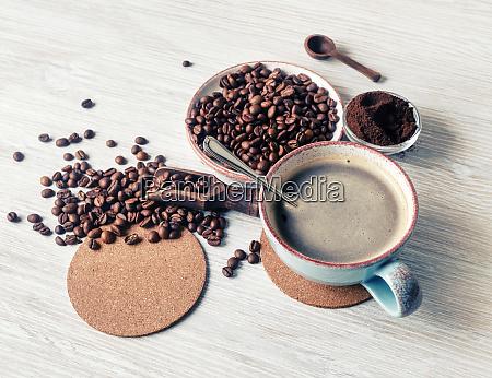 cafe fresco y sabroso