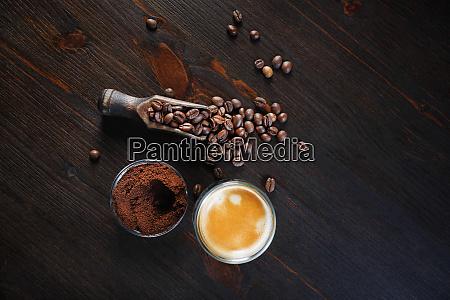foto del espresso de cafe