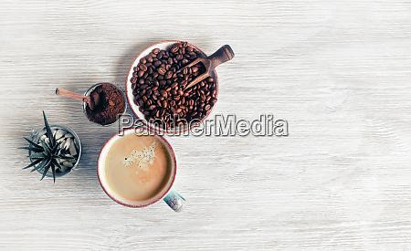 sabroso fondo de cafe