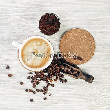 foto de la taza de cafe