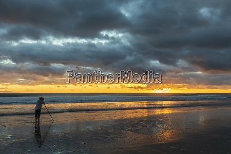 nueva zelanda isla norte waikato playa