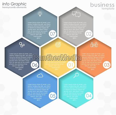 info grafico proceso plantilla grafica