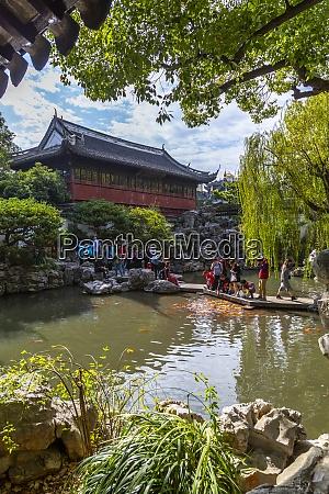 vista de la arquitectura tradicional china