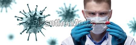 médico, joven, contra, el, nuevo, coronavirus - 28920359