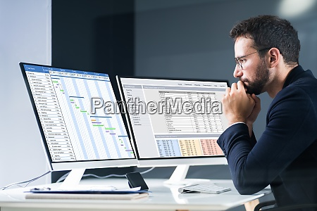 lista de informes de programacion y