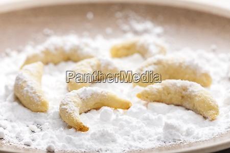 bodegon de galletas de vainilla navidenyas