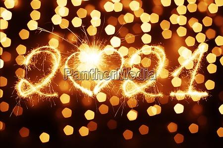 feliz fondo de anyo nuevo comienza