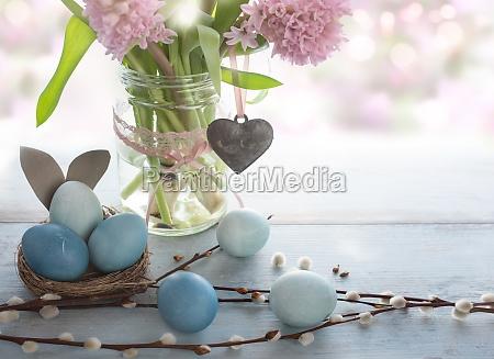 decoracion de pascua de primavera