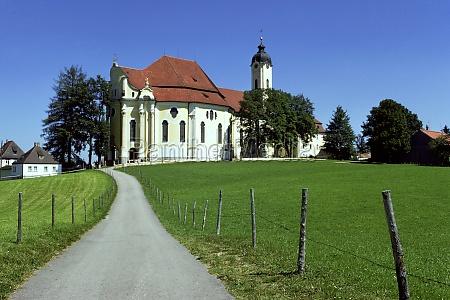iglesia del pais de baviera iglesia