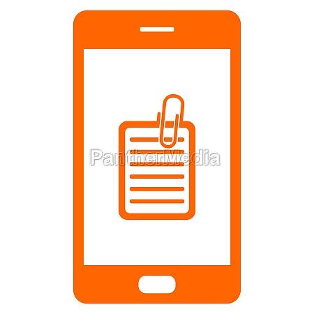 documento y smartphone