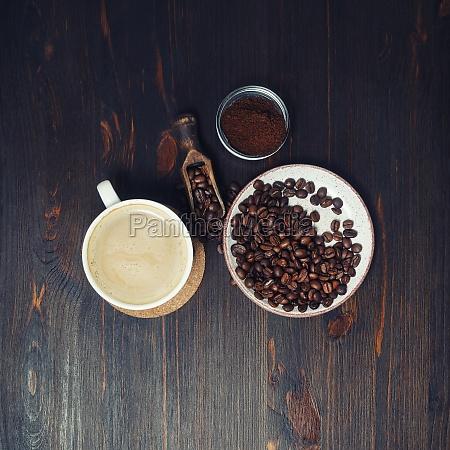 bodegón, con, café - 29619511