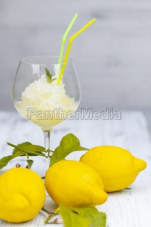 bodegón, con, sorbete, de, limón - 29619014