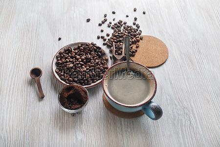 bodegón, con, café - 29620878