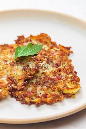 bodegon de panqueques de patata