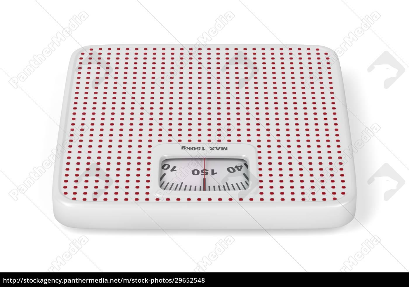 báscula, de, pesaje, mecánica, blanca - 29652548