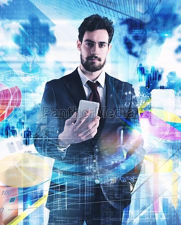 vida de hombre de negocios