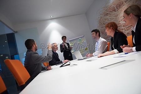 grupo de personas de negocios en