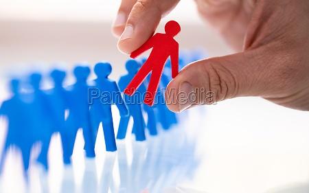 seleccion ideal del perfil del candidato