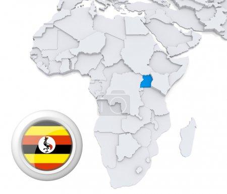 Contexto, bandera, mapa, África, Argelia, Egipto - B28740359