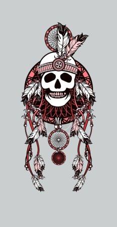 vector, diseño, arte, ropa, origen étnico, cabeza - B95568980