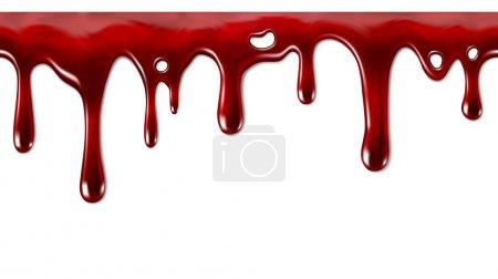 rojo, blanco, vector, antecedentes, ilustración, Aislado - B68610213